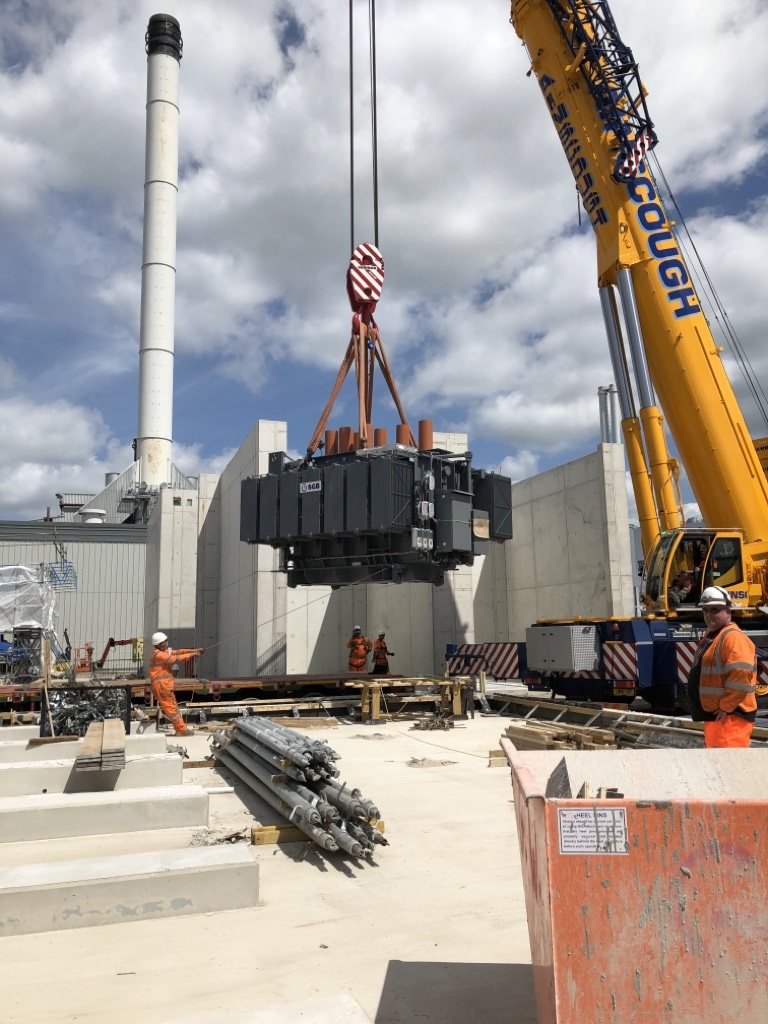 SGB Transformer Delivery in the UK