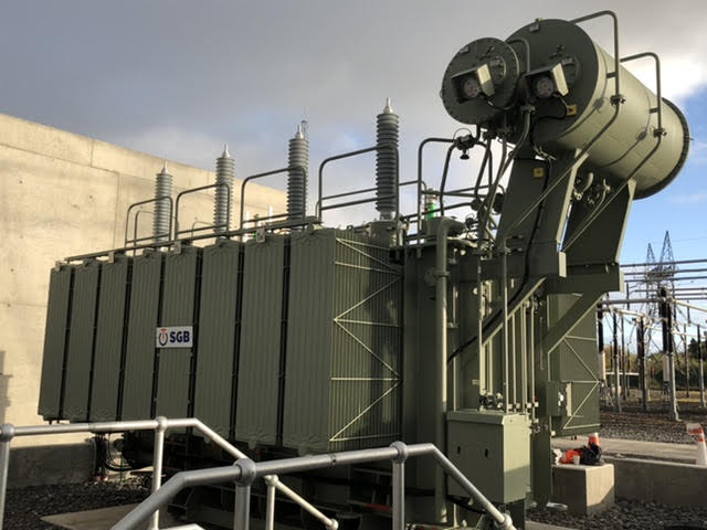 SGB Transformer delivered to Ireland