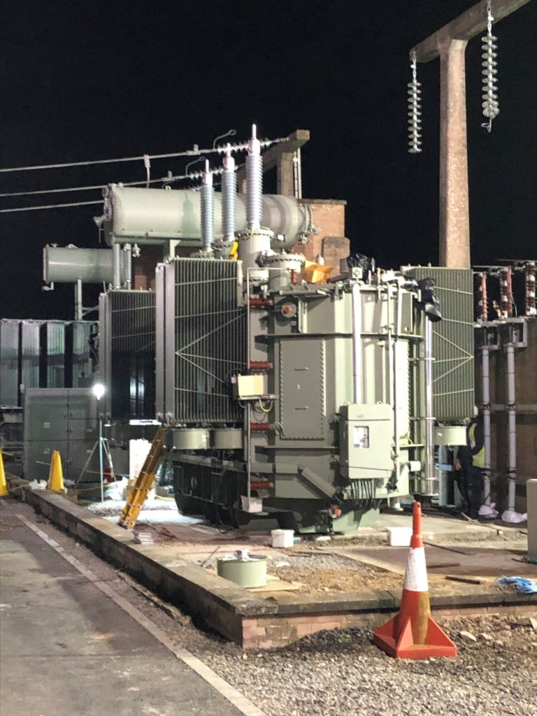 Redeployment of an SGB Transformer
